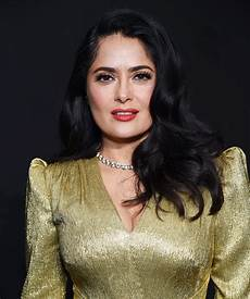 Salma Hayek Salma Hayek Celebrity Haircut Hairstyles Celebrity In Styles