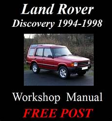 car engine manuals 1998 land rover discovery security system land rover discovery freelander series 1 94 1998 factory workshop manual on cd ebay