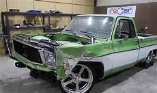 1976 Chevy C10 Gas Monkey bangshift this gas monkey built 1976 c10 was totaled