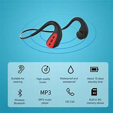 2020 Painless Bone Conduction Earphone Bluetooth by Xgody Bone Conduction Ipx8 Wireless Bluetooth Headphones