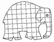elmar elefant ausmalbild okul 246 ncesi okul anaokulu