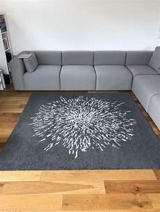 ikea grey white square rug 200cm x 200cm in