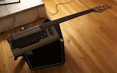 This Commodore 64 Bass Guitar Is Rocker Heaven