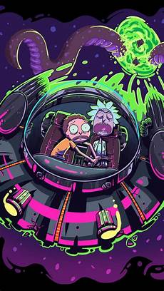 Iphone X Wallpaper 4k Rick And Morty