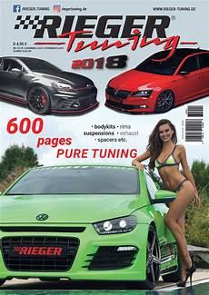 Rieger Tuning Katalog 2017 - rieger kunststoff tuning design abs shop katalog
