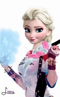 Malvorlagen Elsa Quinn Harley Elsa Quinn By Treskovgirl On Deviantart