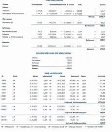 heiz und nebenkosten abrechnung nebenkostenabrechnung