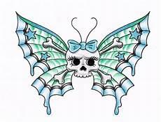 Skull Butterfly By Themangaline On Deviantart