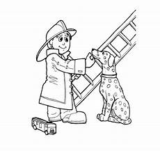 firefighter coloring pages to and print for free