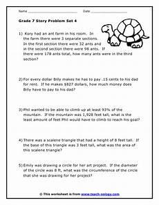 grade 7 word problems 4