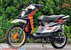 X Ride Modif by Modifikasi Motor Yamaha X Ride Trail Terbaru Modifikasi