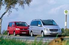 Mercedes Viano Gegen Vw T5 Multivan Autobild De