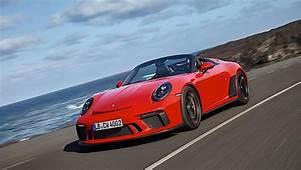 2020 Porsche 911 Speedster Priced At $274500 In The US