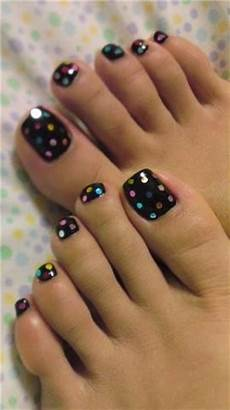 simple nail art designs for beautiful feet nailkart com