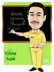 Contoh Gambar Karikatur Guru Koleksi Gambar Hd