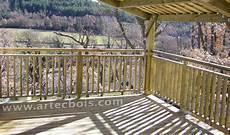 rambarde pour terrasse artecbois terrasses en bois et amenagements exterieurs en