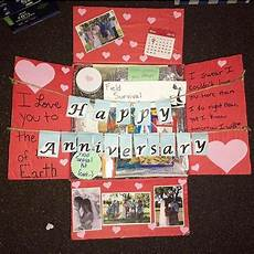 quot this was my first care package i sent him and also our one year wedding anniversary quot thanks
