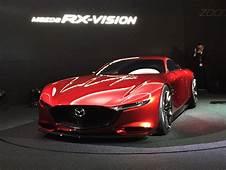 Mazda RX Vision Concept Hints At Next Rotary Engine