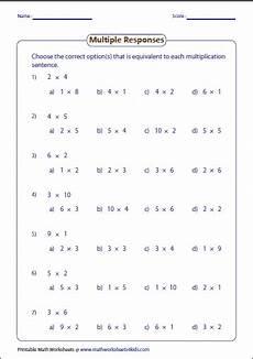 multiplication sentence worksheets for grade 3 4813 basic multiplication worksheets