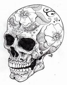 sugar skull coloring pages search skull