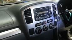 how to remove the radio form a suzuki grand vitara 2005