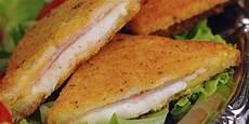 ricetta pane in carrozza mozzarella in carrozza with ham mangia magna