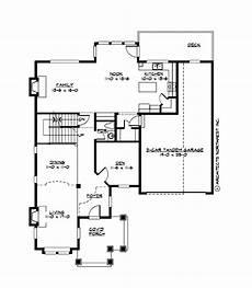 craftsman bungalow second floor plan sdl custom homes columbia crest plan m2805a3ft 0db craftsman style