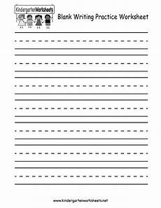 kindergarten blank writing practice worksheet printable writing practice worksheets writing