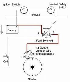 correct starter wiring ford truck enthusiasts