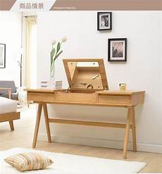 Wooden Bedroom Desk by Oak Dresser Desk Simple Japanese Style Nordic Style Solid