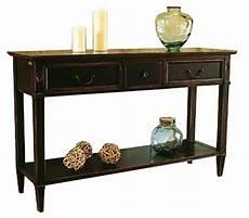 meuble dos de canapé console directoire 1tiroir bois meuble d appoint