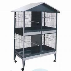 gabbia da per canarini gabbia voliera zincata quadrupla per uccelli
