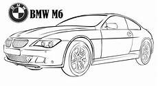 bmw m6 ausmalbilder cars coloring bmw m6 coloring page luxury car coloring printable sheet