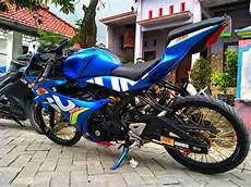 Modifikasi Gsx R150 by Modifikasi Gsx R150 Jari Jari Ala Thailook