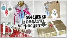 Geschenk Schön Verpacken - geschenke kreativ verpacken diy santagirls beautxmas
