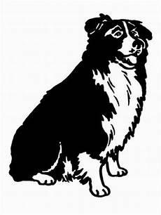 hund border collie ausmalbild malvorlage hunde
