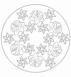 Malvorlagen Blumen Kindergarten Malvorlagen F 252 R Blumenmandala Ausmalbilder Blumen Mandala