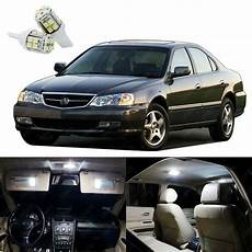 acura tl lights 14 x xenon white led interior lights package kit for acura