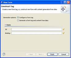 web application development creating jsf html tags advanced