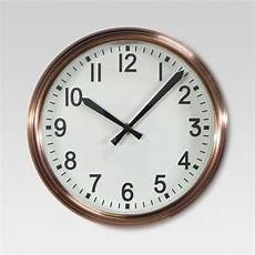 10 Quot Wall Clock Copper Threshold Target