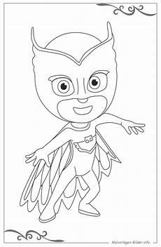 kinder malvorlagen pj masks kinder ausmalbilder