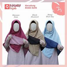 Cara Memakai Jilbab Kombinasi 2 Warna Ide Perpaduan Warna
