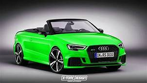 2017 Audi RS3 Cabriolet Would Be Really Heavy And