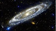 du flou sur des images de l espace
