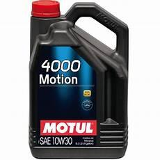 huile moteur 10w30 huile moteur 4000 motion 10w30 feu vert
