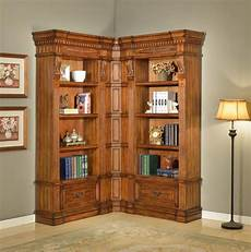 home office furniture wall units the grand manor granada corner bookcase wall unit office