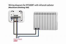 salus rt500rf digital wireless programmable room thermostat
