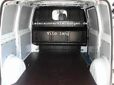 Mercedes Vito Ladefläche - vito laderaumverkleidung direkt ab werk