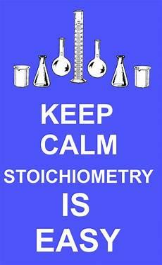 stoichiometry is easy chemical education xchange