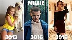 millie bobby brown from 3 to 14 years then and now